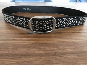Biba Belt black-silver-colored