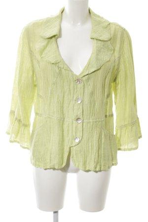 Biba Hemd-Bluse grün Casual-Look