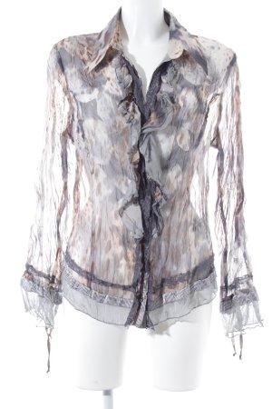 Biba Camicia blusa stampa integrale stile stravagante