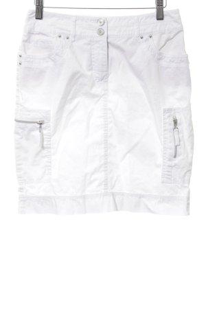 Biba High Waist Skirt white casual look