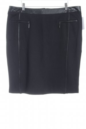 Biba High Waist Skirt black elegant
