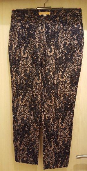 Biba Pantalone nero-marrone chiaro Cotone