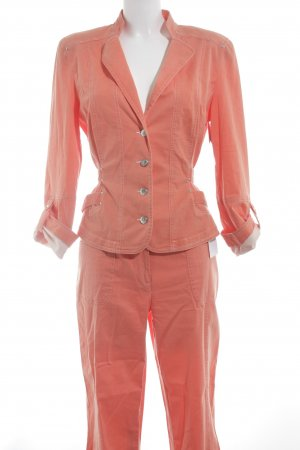 Biba Trouser Suit orange casual look