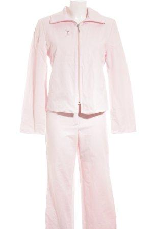 Biba Tailleur pantalone rosa pallido stile semplice