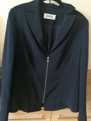 Biba Blazer donkerblauw Polyester