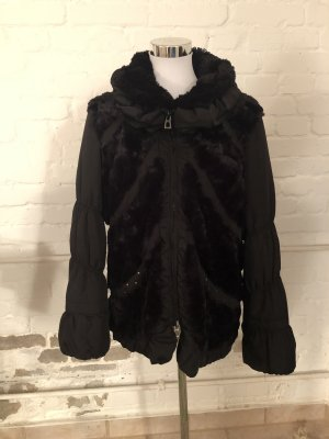 Biba Fake Fur Jacket black