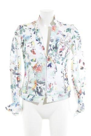 Biba Denim Blazer floral pattern extravagant style