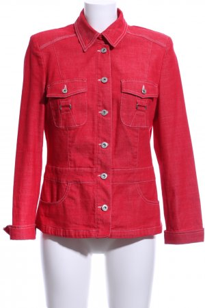 Biba Denim Jacket red business style