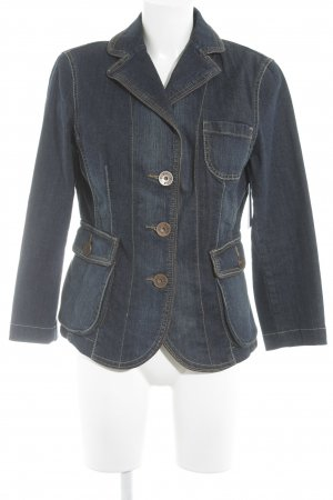 Biba Denim Jacket dark blue casual look