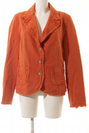 Biba Jeansjacke orange Casual-Look