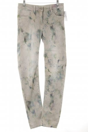 Biba Jeggings motivo astratto stile casual