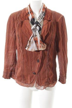 Biba Jersey Blazer dark orange extravagant style