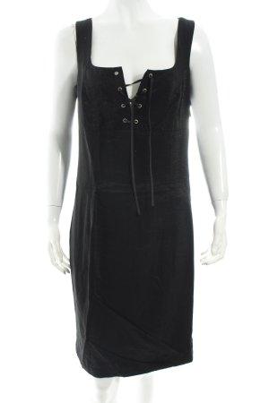 Biba Kleid schwarz Schimmer-Optik