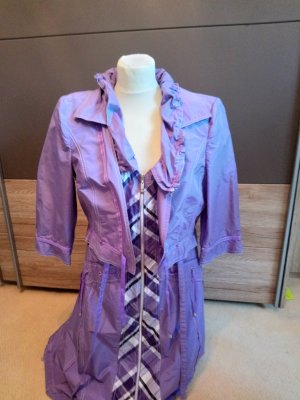 Biba Shortsleeve Dress purple-lilac