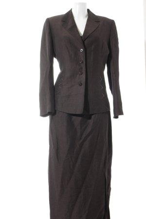 Biba Kostüm dunkelbraun Vintage-Look
