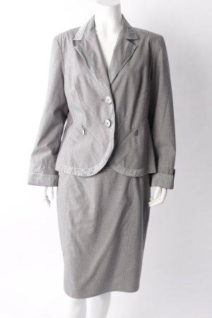 Biba Kostüm grau-meliert