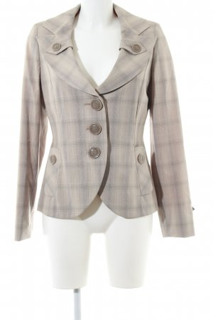 Biba Short Blazer natural white-light grey allover print casual look