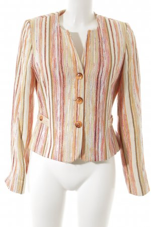 Biba Short Blazer abstract pattern casual look