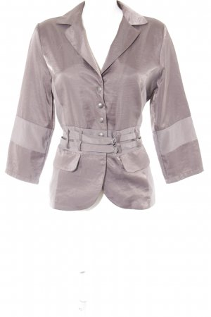 Biba Short Blazer grey casual look