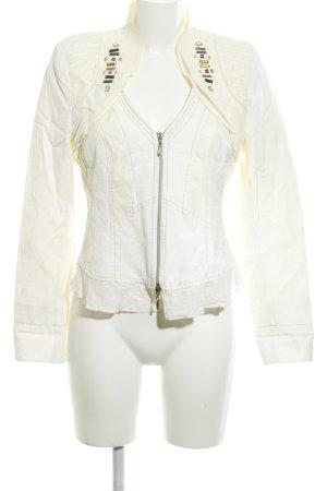 Biba Short Blazer natural white-cream elegant