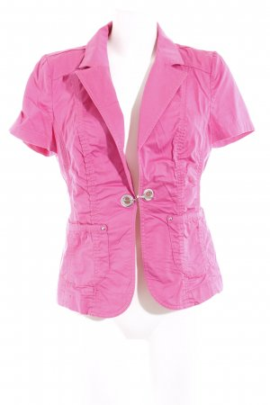 Biba Short Sleeved Blouse pink casual look