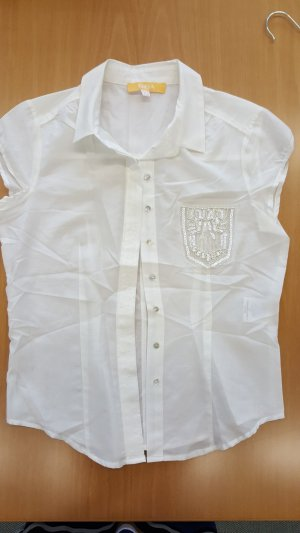 Biba Short Sleeved Blouse natural white
