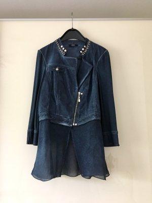 Biba Short Blazer dark blue