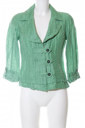 Biba Short Jacket green casual look