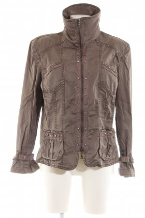 Biba Short Jacket brown casual look