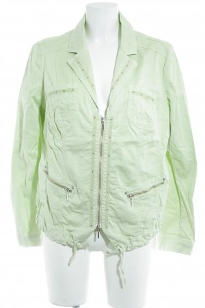 Biba Short Jacket pale green casual look