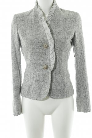 Biba Short Jacket light grey-grey flecked elegant