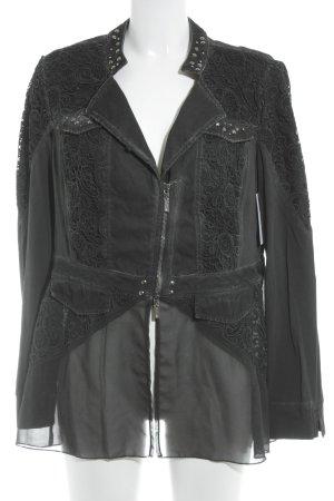 Biba Short Jacket black extravagant style