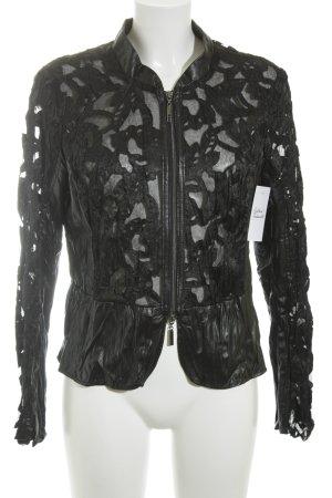 Biba Kurzjacke schwarz extravaganter Stil