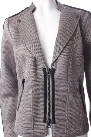 Biba Kurzjacke schwarz-grau Biker-Look