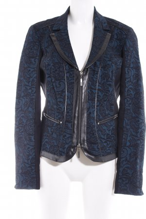 Biba Short Jacket black-petrol casual look