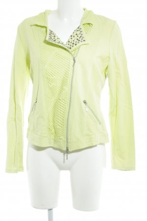 Biba Short Jacket meadow green-neon yellow extravagant style