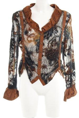 Biba Long Sleeve Blouse color gradient extravagant style
