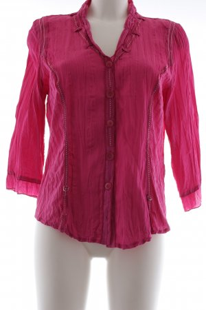 Biba Long Sleeve Blouse pink casual look