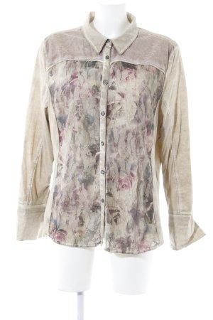 Biba Long Sleeve Shirt beige casual look