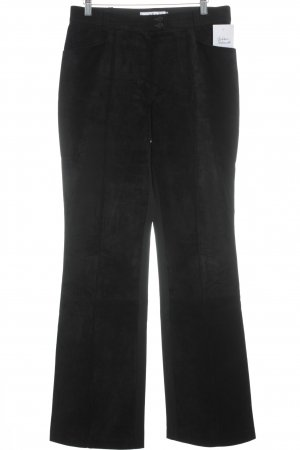 Biba Leather Trousers black extravagant style
