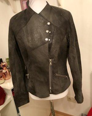 Biba Leather Jacket multicolored