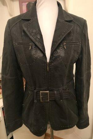 Biba Leather Jacket multicolored leather