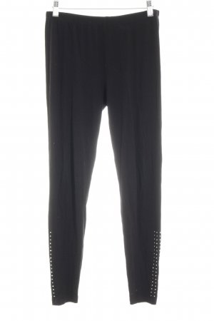 Biba Leggings negro look casual