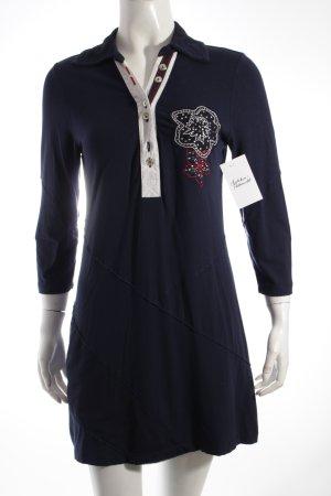 Biba Longshirt dunkelblau Segel-Look