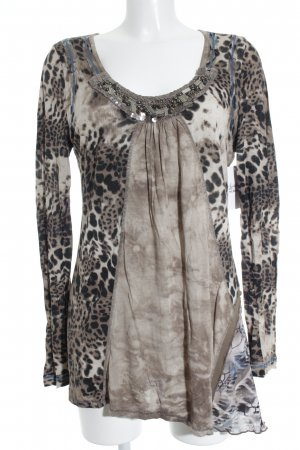 Biba Camisa larga estampado de leopardo look casual