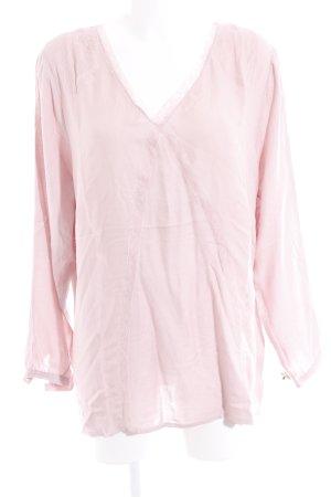 Biba Tunic Blouse pink viscose