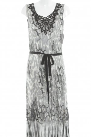 Biba Maxi Dress abstract print casual look
