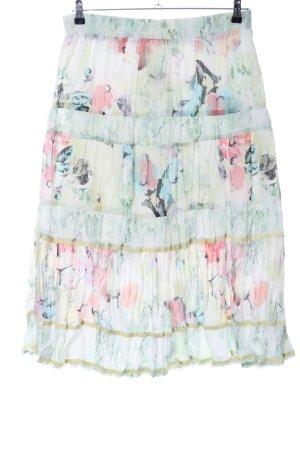 Biba Maxi Skirt allover print casual look