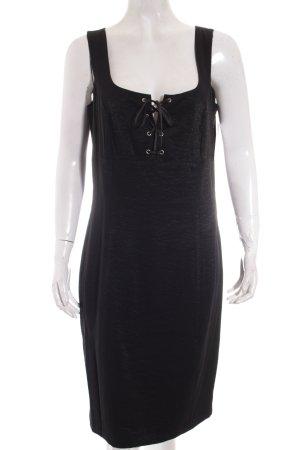 Biba Minikleid schwarz extravaganter Stil