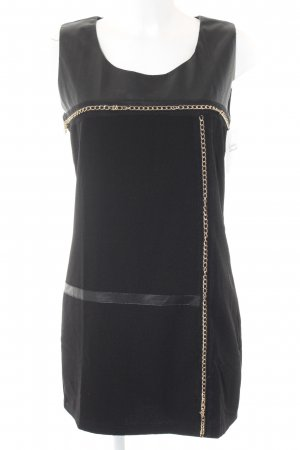 Biba Mini Dress black-gold-colored elegant